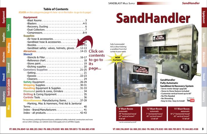 sandblast catalog